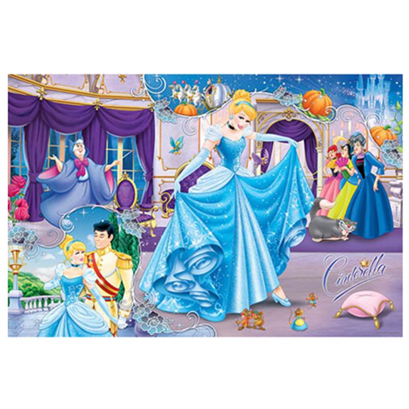 Disney Princess仙履奇緣(2)拼圖1000片