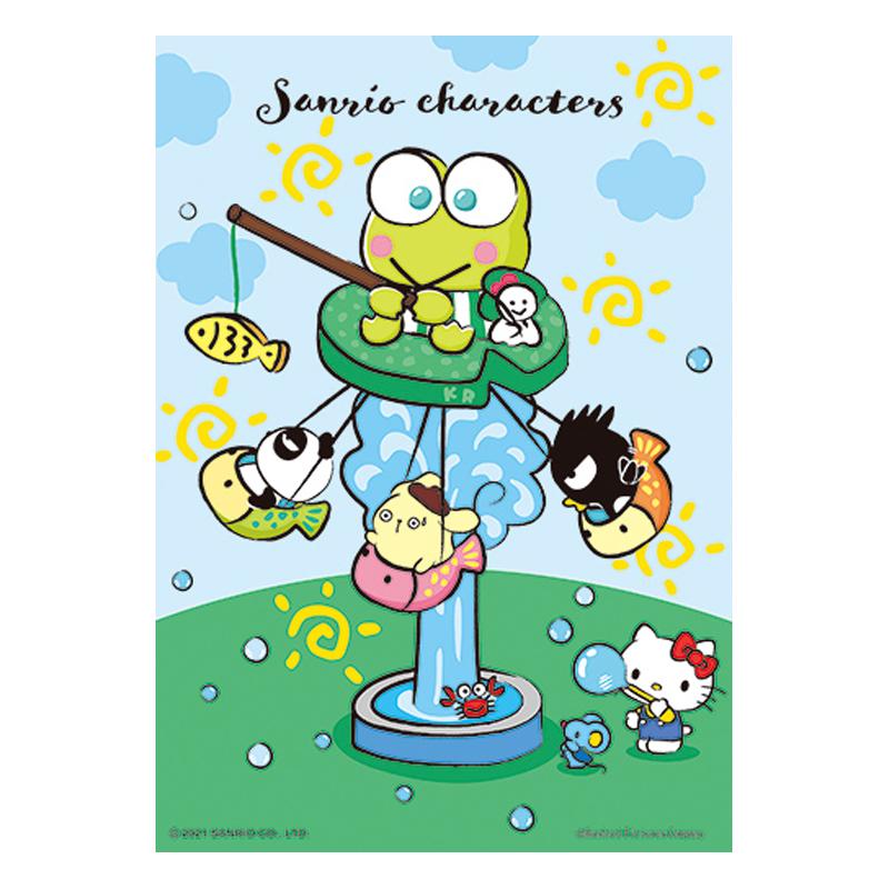 Sanrio characters奇幻樂園系列-飛天釣魚船拼圖108