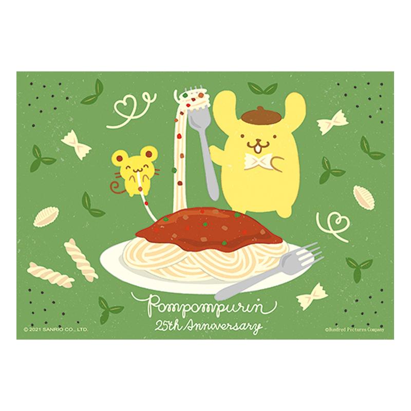 PomPomPurin25周年系列-義式肉醬麵拼圖108片