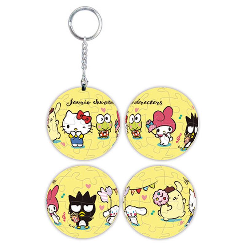 Sanrio characters奇幻樂園系列-合照款立體球型拼