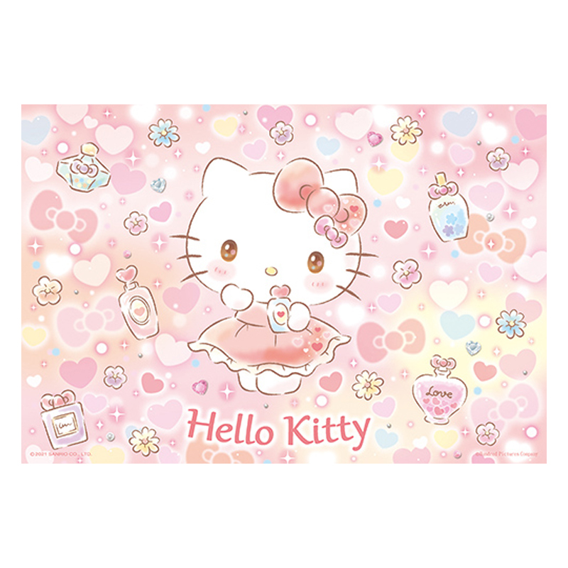 Hello Kitty 閃亮系列-沁甜香水拼圖300片