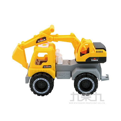工程車系列-挖土機