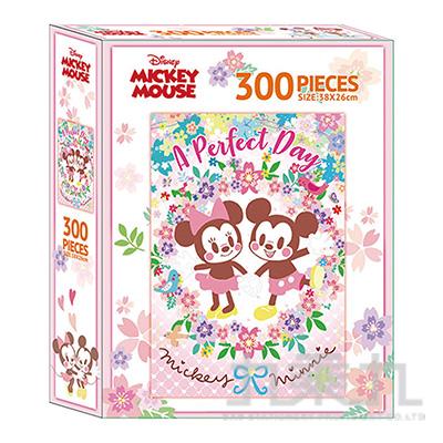 迪士尼Q版300片盒裝拼圖(K) QPQ01K