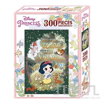 白雪公主Q版300片盒裝拼圖(K) QPQ02K