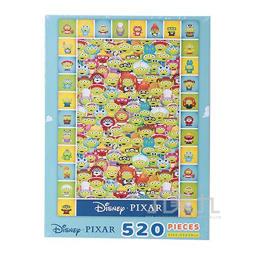 皮克斯三眼怪520片盒裝拼圖(B) QFR27B
