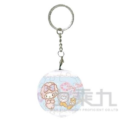 My Melody糖果同樂會球形拼圖鑰匙圈24片 HP0124119