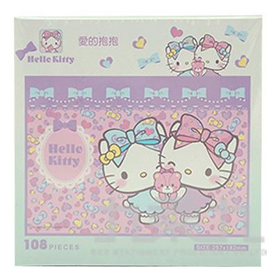 Hello Kitty愛的抱抱拼圖108片
