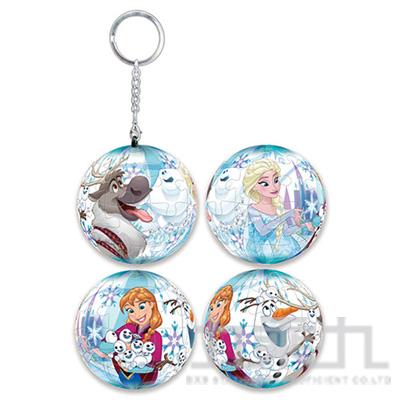 Frozen 冰雪奇緣(8) 立體球型拼圖鑰匙圈24片