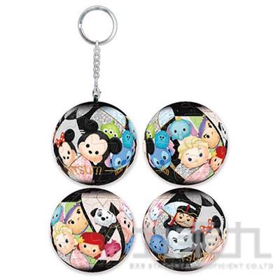 Disney Tsum Tsum (1) 立體球型拼圖鑰匙圈(24片)