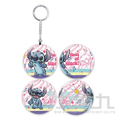 Stitch 星際寶貝(3) 立體球型拼圖鑰匙圈(24片)