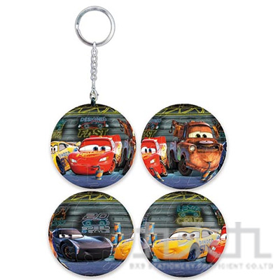 Cars 汽車總動員(1) 立體球型拼圖鑰匙圈(24片)