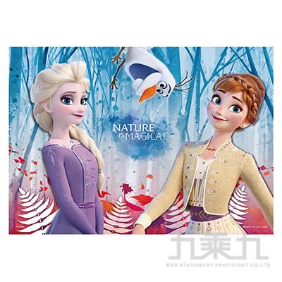 Frozen冰雪奇緣2(2)心形拼圖200片HPD0200-018