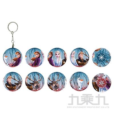 Frozen冰雪奇緣(9)立體球型拼圖鑰匙圈24片