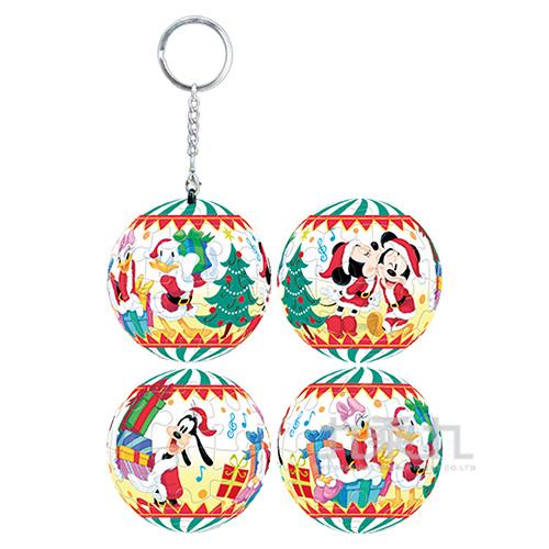 Mickey Mouse&Friends米奇與好朋友(11)立體球型拼圖鑰