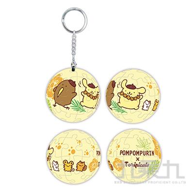 Sanrio Characters& 扭蛋星球(奇異果鳥)立體球型拼圖