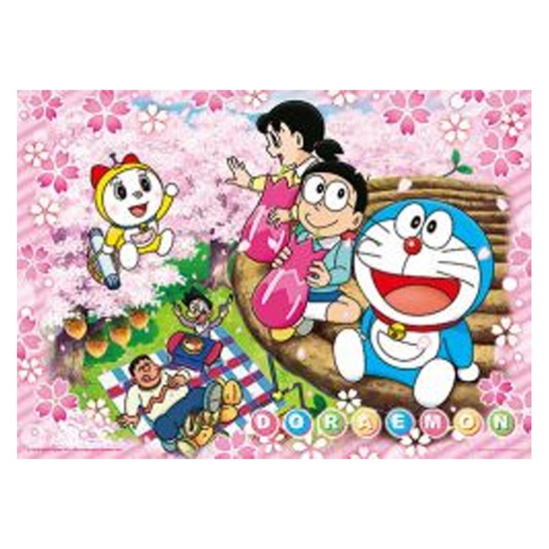 哆啦A夢(春櫻花見)拼圖520片