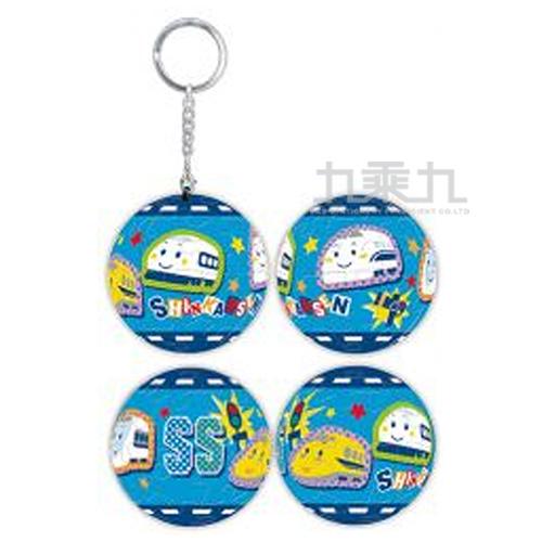Shinkansen電車好朋友立體球型拼圖鑰匙圈24片