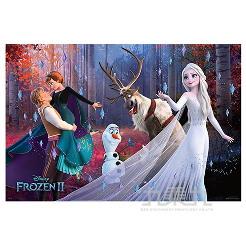 Frozen冰雪奇緣2(1)夜光拼圖1000片