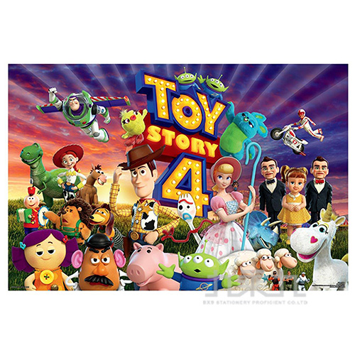 Toy story4玩具總動員4 (1)夜光拼圖1000片
