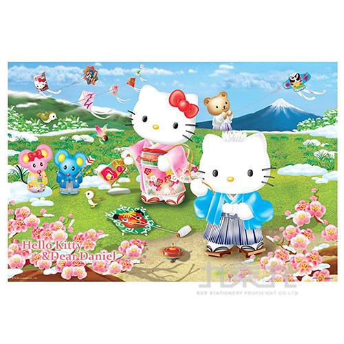 Hello Kitty&Dear Daniel 新春童玩拼圖1000片