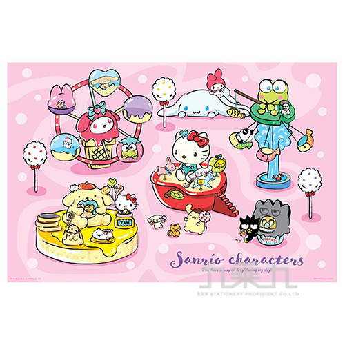 Sanrio characters奇幻樂園拼圖1000片