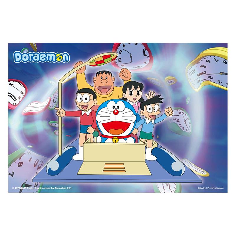 哆啦A夢(時光機)拼圖300片