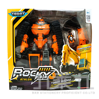 TOBOT 機器戰士ROCKY ENG YT01066