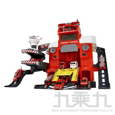 TOMICA 多美小汽車 遙控聲光消防局 TW10743