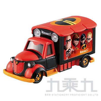 TOMICA 多美小汽車 迪士尼 超人特攻隊電影宣傳車
