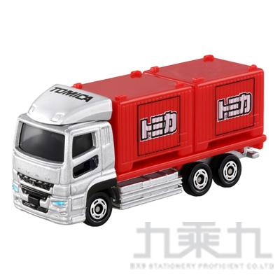 TOMICA 多美小汽車 三菱FUSO貨櫃車#085 TM085A3
