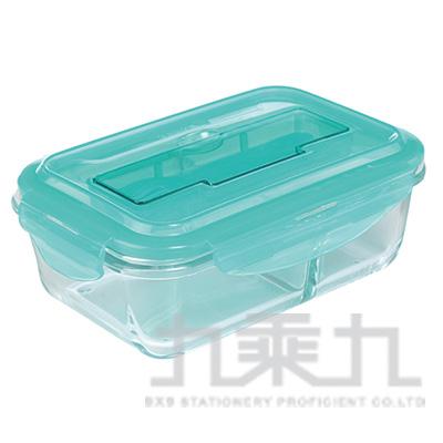 愛佳寶分隔耐熱玻璃保鮮盒800ml AKB-800A