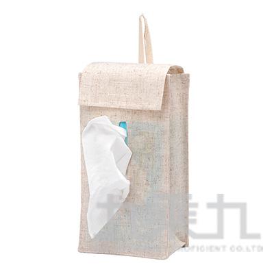 森/棉麻抽取式衛生紙套/掛式 S3082