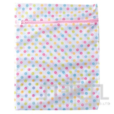 彩色圓點洗衣袋40*50cm 8812