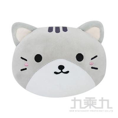 16CM貓咪遇見狗大頭版-貓咪(顏色隨機出貨)