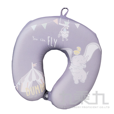 小飛象馬戲團記憶棉頸枕