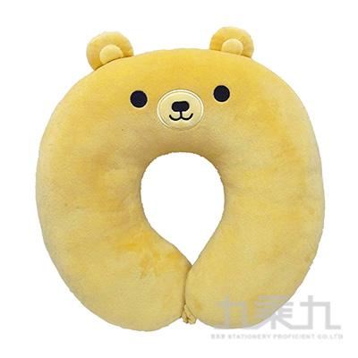 棕熊U型功能枕