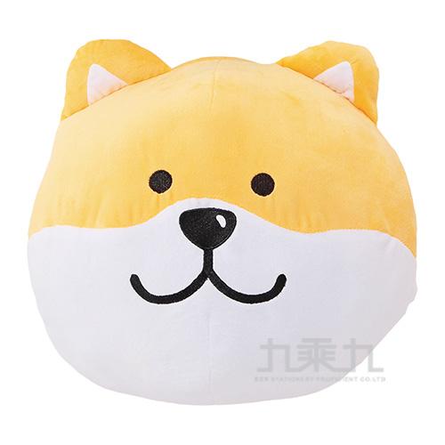 微笑柴犬-暖手抱枕/黃柴