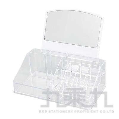 四方型帶鏡化妝盒 M-6755