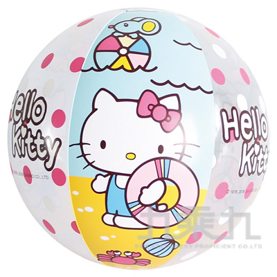 90#Hello Kitty海灘球 A675