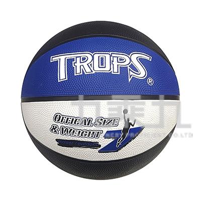 三色刻字籃球(藍) 40182A