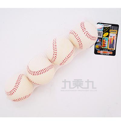 MG白色棒球7cm(4入)