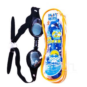 0(H)兒童全矽膠快調邊扣泳鏡 S604