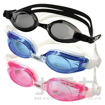 81#S605塑鋼平面光學泳鏡 S605