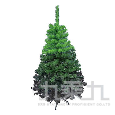 4尺綠色漸變聖誕樹(附鐵腳座) T001-424