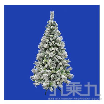 6尺植絨豪華聖誕樹(附鐵腳座) T001-628