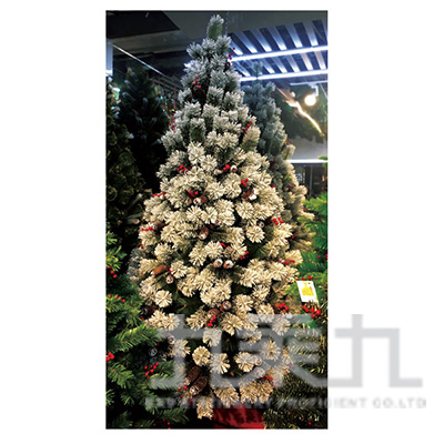 1.8米漸層聖誕樹附松果(440頭) SL6293