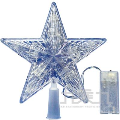 94(H)83#6.5LED閃燈樹頂星 GTX-5456