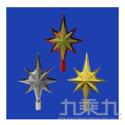 """8""""金蔥流星樹頂星 GTX-5011 (隨機出貨)"""