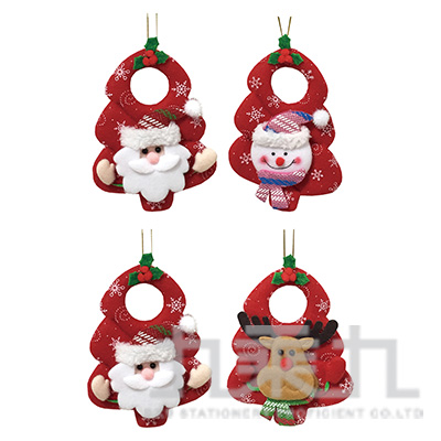 樹型聖誕公仔吊飾 45708