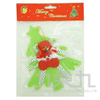 94#不織布綠聖誕樹加老公 SL5501
